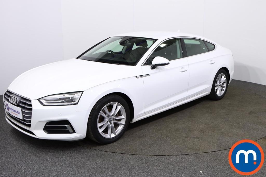 Audi A5 Sport - Stock Number 1134353 Passenger side front corner