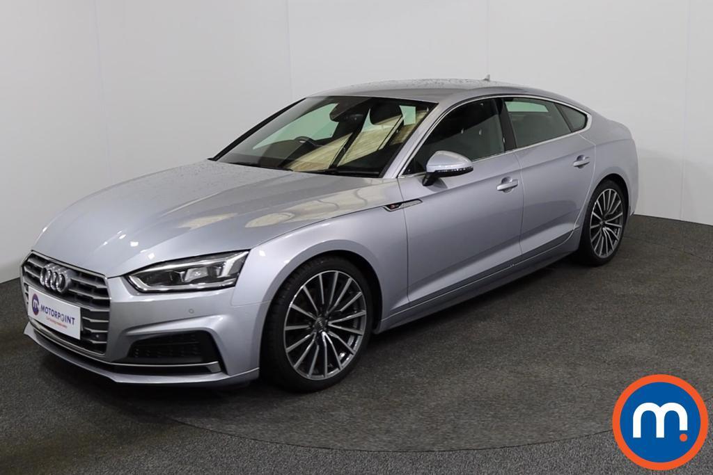 Audi A5 S Line - Stock Number 1139683 Passenger side front corner