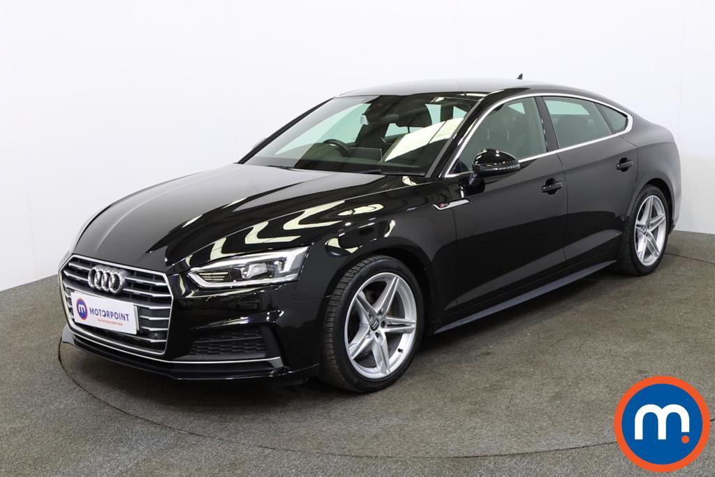 Audi A5 2.0 TFSI S Line 5dr [Tech Pack] - Stock Number 1134321 Passenger side front corner