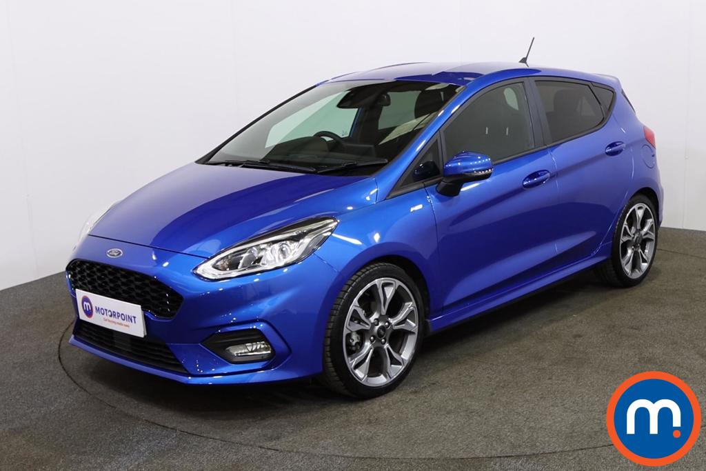 Ford Fiesta ST-Line X Edition - Stock Number 1143526 Passenger side front corner