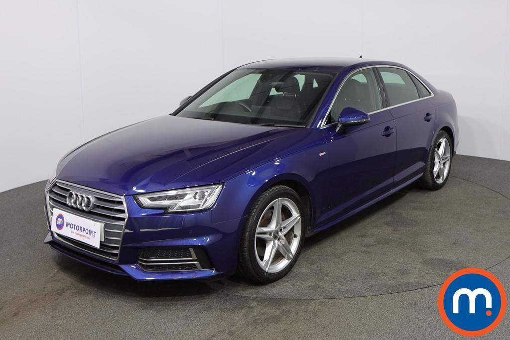 Audi A4 S Line - Stock Number 1141350 Passenger side front corner