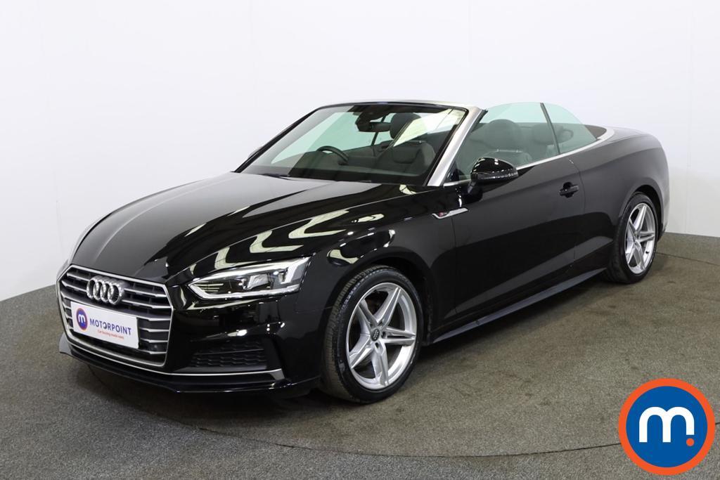 Audi A5 S Line - Stock Number 1142564 Passenger side front corner