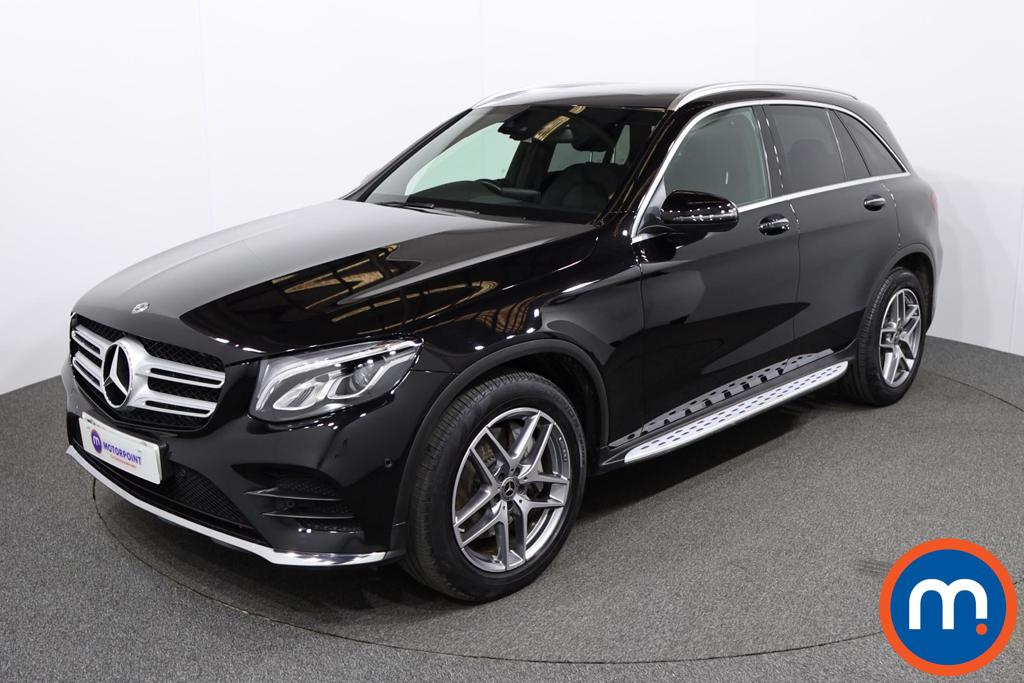 Mercedes-Benz GLC AMG Line - Stock Number 1144974 Passenger side front corner