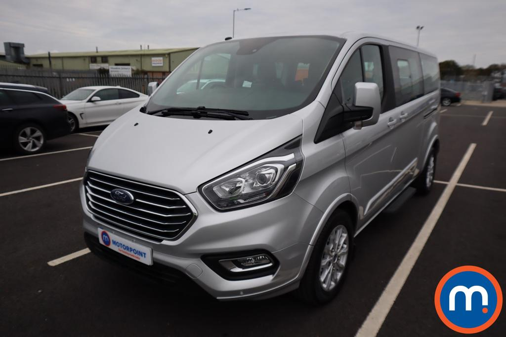 Ford Tourneo Custom 2.0 EcoBlue 130ps Low Roof 8 Seater Titanium - Stock Number 1145063 Passenger side front corner