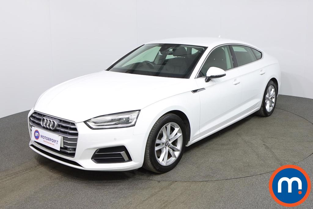 Audi A5 1.4 TFSI Sport 5dr S Tronic - Stock Number 1142568 Passenger side front corner