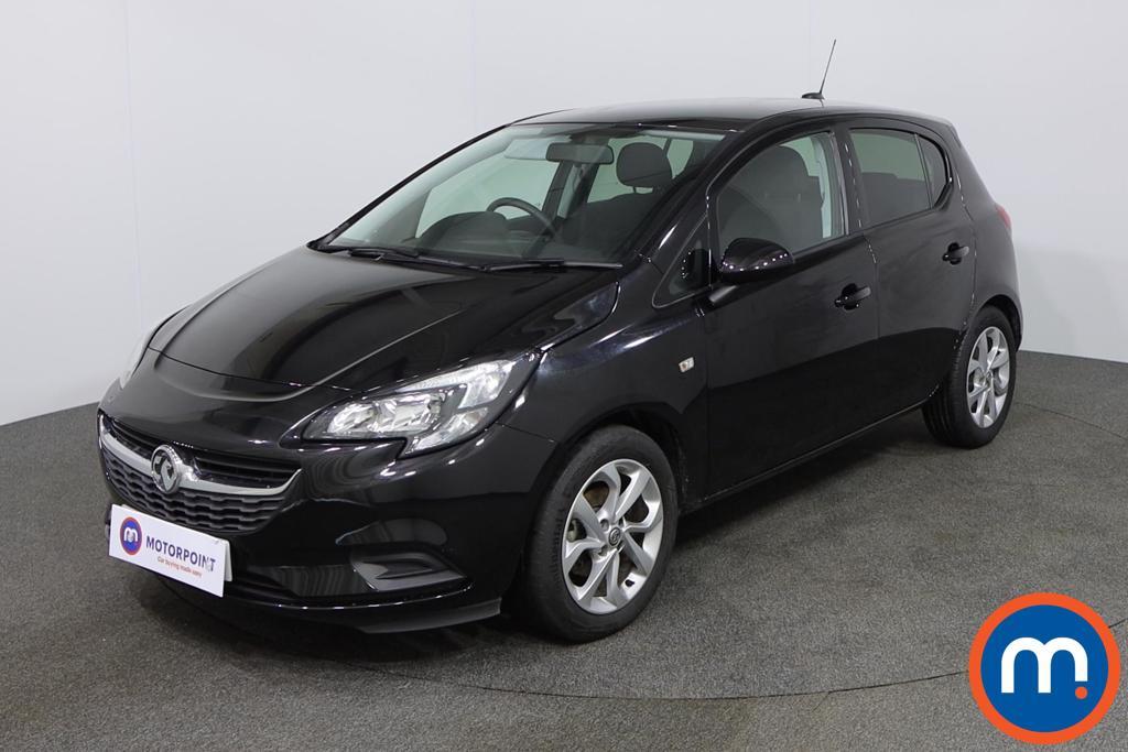 Vauxhall Corsa Sport - Stock Number 1130393 Passenger side front corner