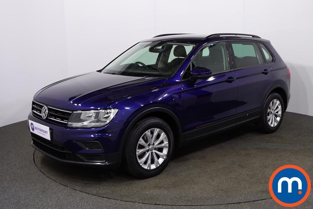 Volkswagen Tiguan S - Stock Number 1143280 Passenger side front corner