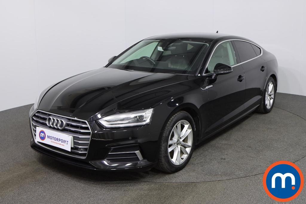 Audi A5 Sport - Stock Number 1143684 Passenger side front corner