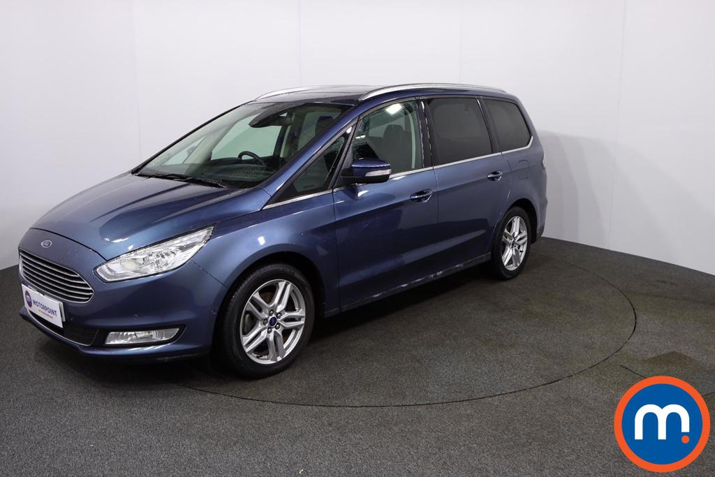 Ford Galaxy Titanium X - Stock Number 1118035 Passenger side front corner