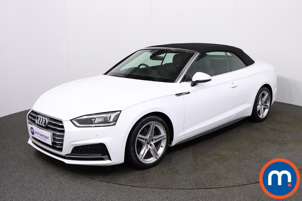 Audi A5 2.0 TFSI S Line 2dr - Stock Number 1132554 Passenger side front corner