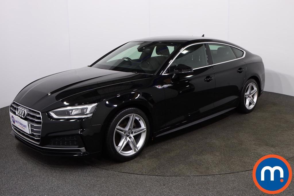 Audi A5 S Line - Stock Number 1132601 Passenger side front corner