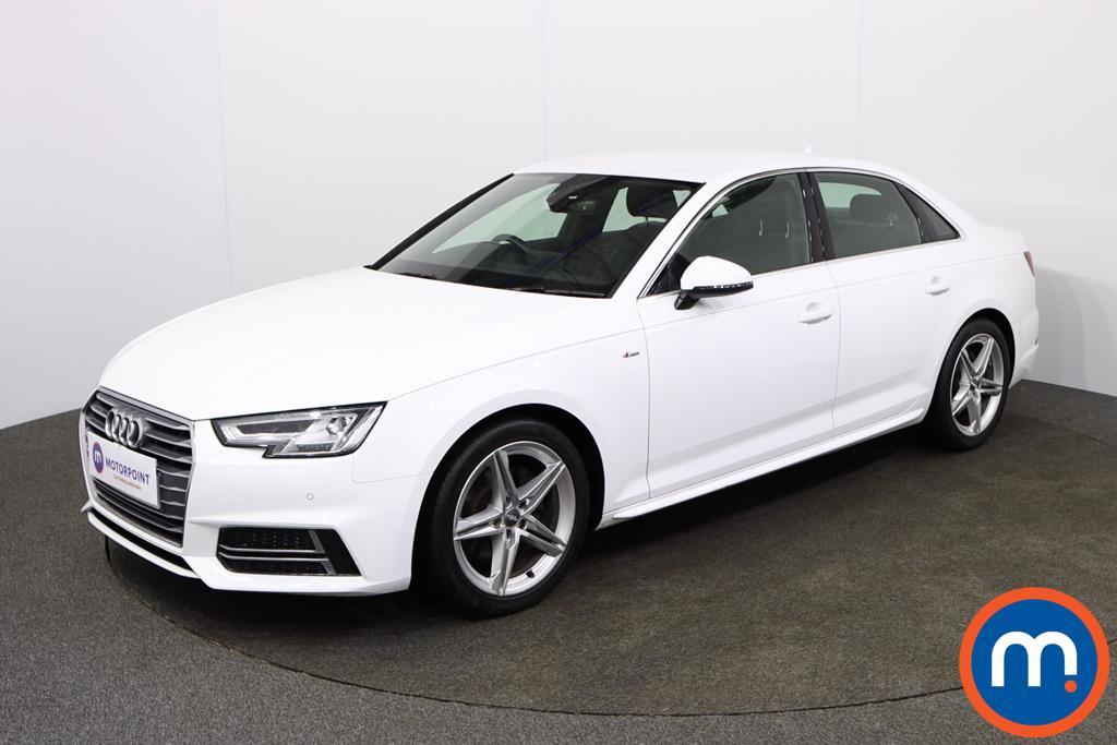 Audi A4 S Line - Stock Number 1135691 Passenger side front corner