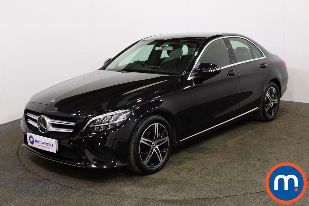 Mercedes-Benz C Class Sport - Stock Number 1142338 Passenger side front corner