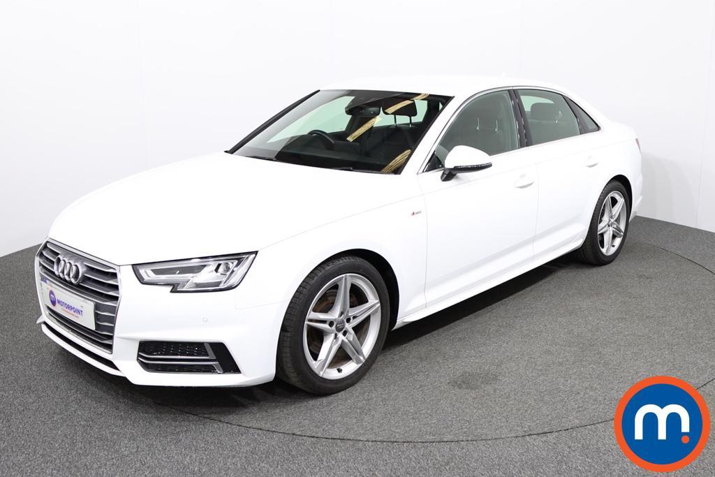Audi A4 S Line - Stock Number 1132453 Passenger side front corner
