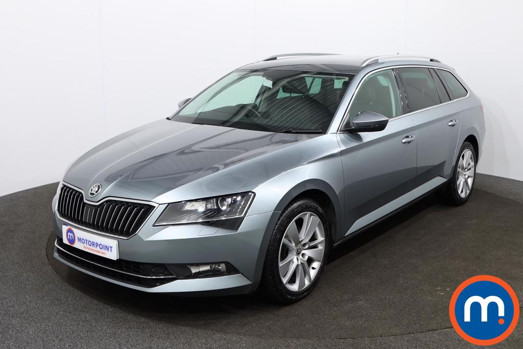 Skoda Superb SE L Executive - Stock Number 1143163 Passenger side front corner