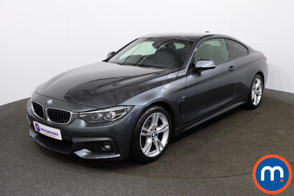 BMW 4 Series 420d [190] M Sport 2dr Auto [Professional Media] - Stock Number 1143702 Passenger side front corner