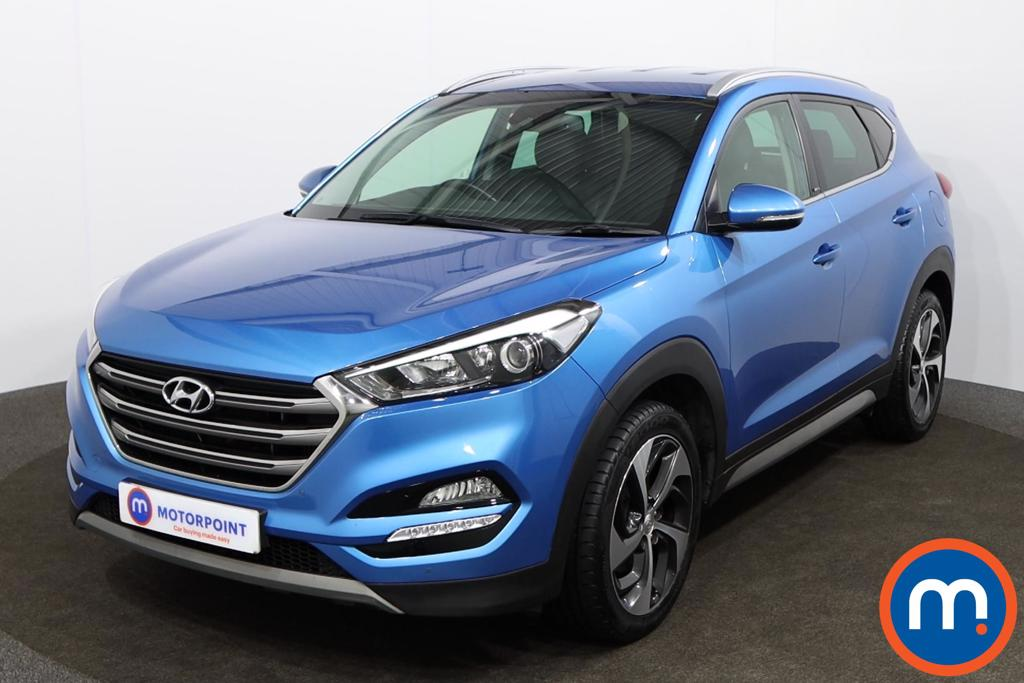 Hyundai Tucson Sport Edition - Stock Number 1144874 Passenger side front corner