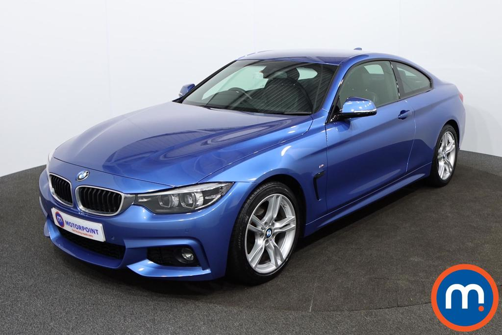 BMW 4 Series M Sport - Stock Number 1144991 Passenger side front corner