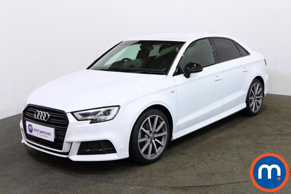 Audi A3 1.5 TFSI Black Edition 4dr - Stock Number 1142537 Passenger side front corner