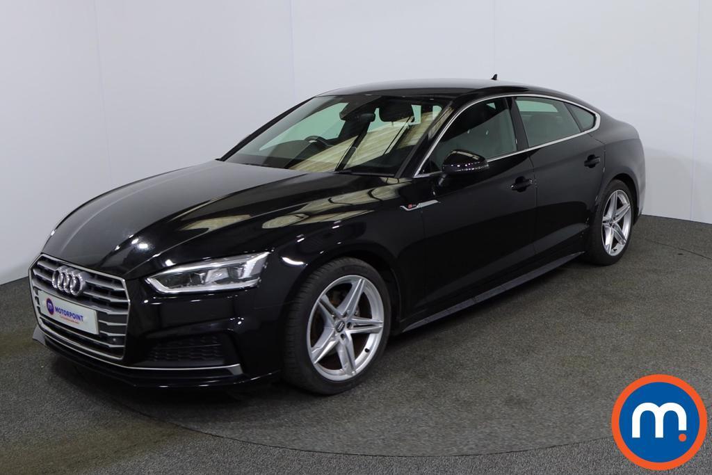 Audi A5 S Line - Stock Number 1139764 Passenger side front corner