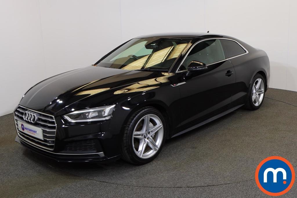 Audi A5 S Line - Stock Number 1145270 Passenger side front corner