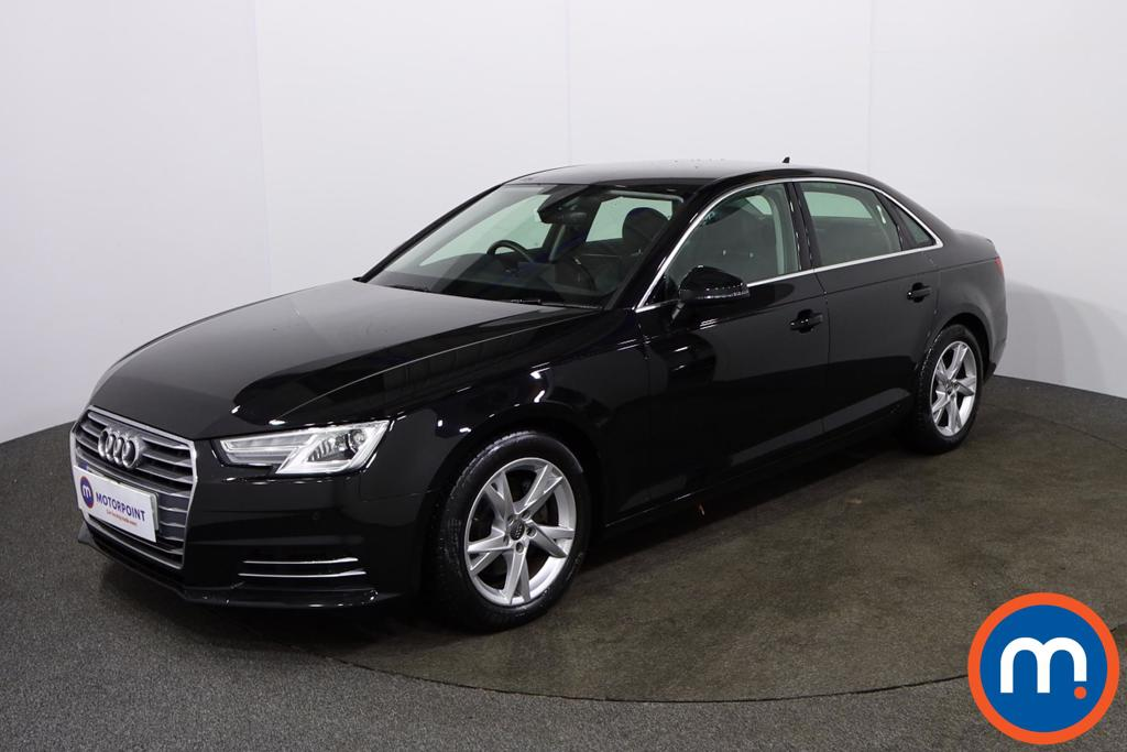 Audi A4 2.0 TDI Ultra Sport 4dr S Tronic [Leather] - Stock Number 1142547 Passenger side front corner