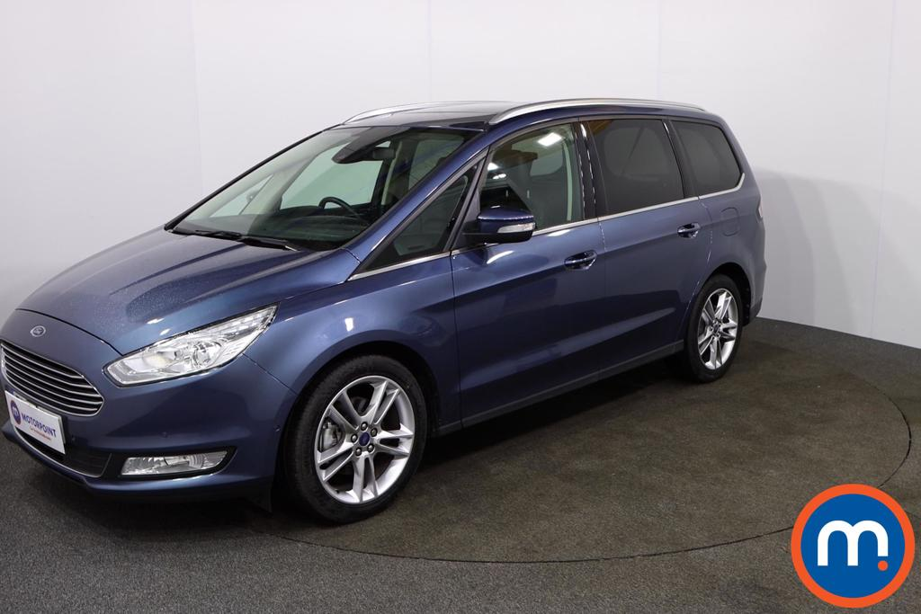 Ford Galaxy 2.0 EcoBlue 150 Titanium X 5dr Auto - Stock Number 1129581 Passenger side front corner