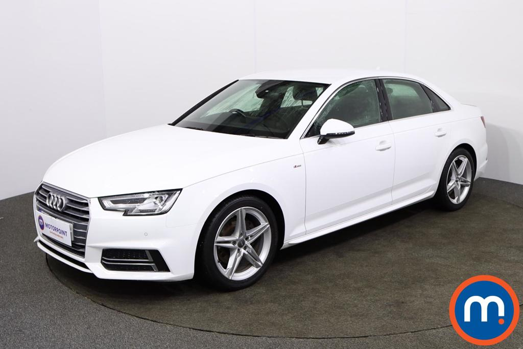 Audi A4 1.4T FSI S Line 4dr [Leather-Alc] - Stock Number 1133993 Passenger side front corner