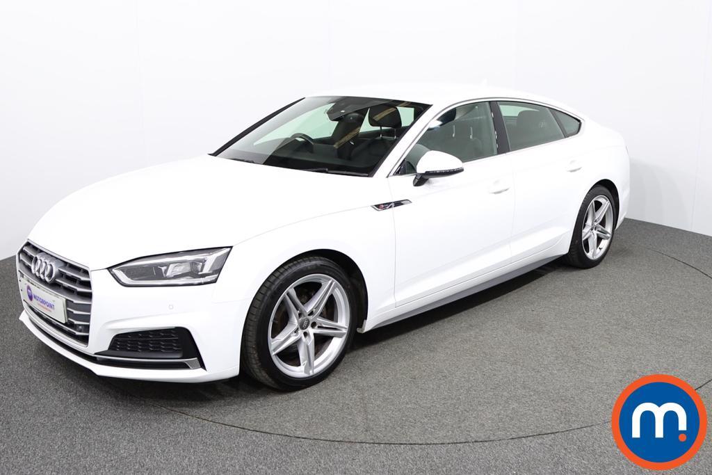 Audi A5 S Line - Stock Number 1145266 Passenger side front corner