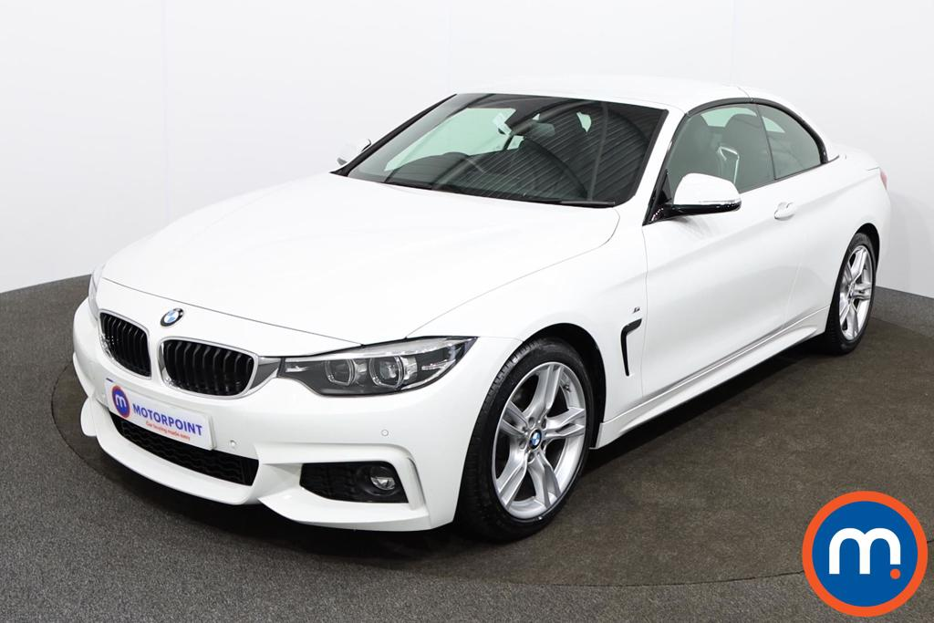 BMW 4 Series 420i M Sport 2dr Auto [Professional Media] - Stock Number 1146324 Passenger side front corner