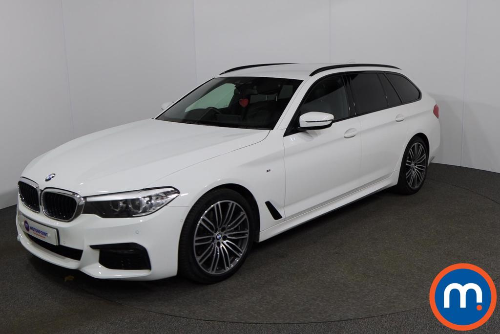 BMW 5 Series 520d M Sport 5dr Auto [Plus Pack] - Stock Number 1148160 Passenger side front corner