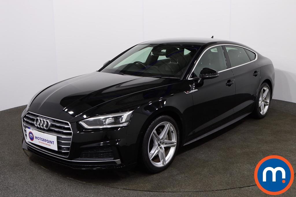 Audi A5 S Line - Stock Number 1142567 Passenger side front corner