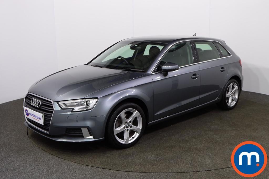 Audi A3 Sport - Stock Number 1143427 Passenger side front corner