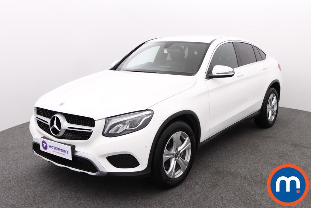 Mercedes-Benz Glc Coupe Sport - Stock Number 1144552 Passenger side front corner