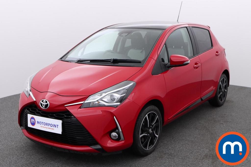 Toyota Yaris 1.5 VVT-i Design 5dr [Pan Roof] - Stock Number 1144595 Passenger side front corner