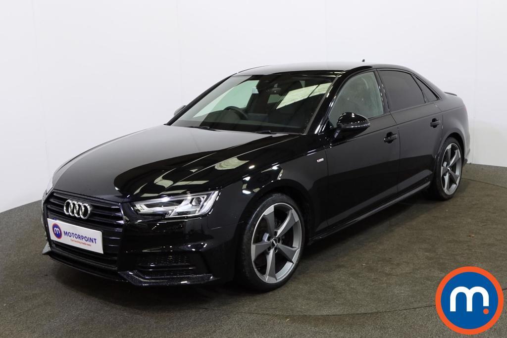 Audi A4 Black Edition - Stock Number 1145469 Passenger side front corner