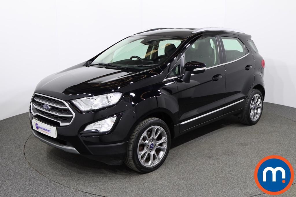Ford Ecosport Titanium - Stock Number 1146504 Passenger side front corner