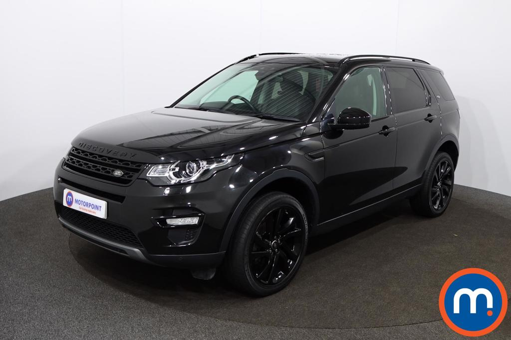 Land Rover Discovery Sport HSE Black - Stock Number 1146693 Passenger side front corner