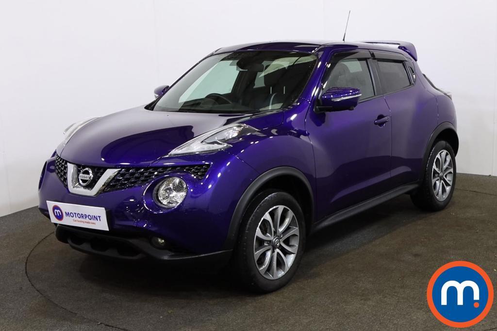 Nissan Juke Tekna - Stock Number 1148293 Passenger side front corner