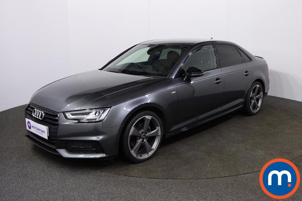Audi A4 Black Edition - Stock Number 1134010 Passenger side front corner