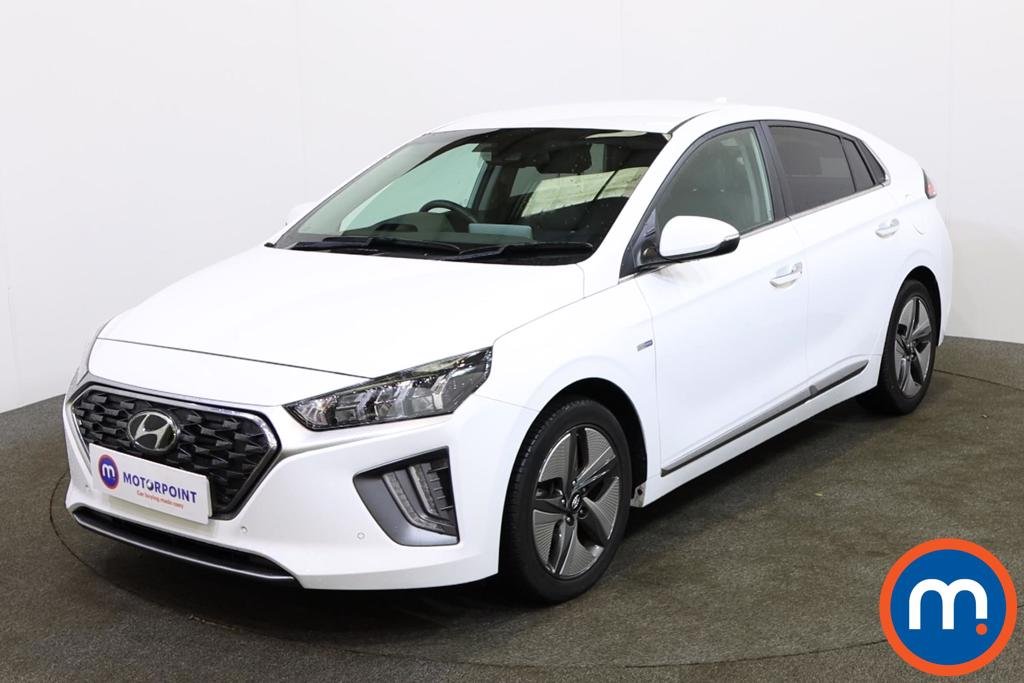 Hyundai Ioniq Premium SE - Stock Number 1145240 Passenger side front corner