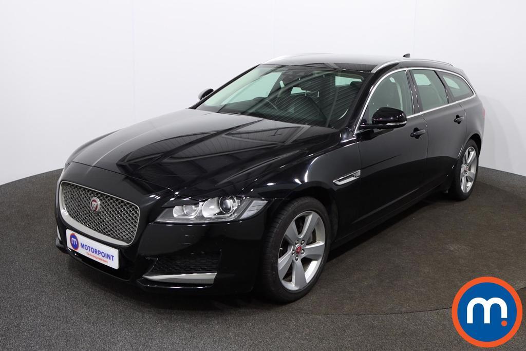 Jaguar XF Portfolio - Stock Number 1146155 Passenger side front corner