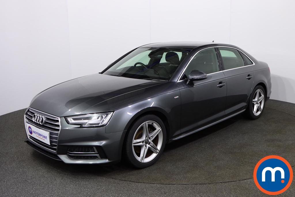 Audi A4 S Line - Stock Number 1135696 Passenger side front corner