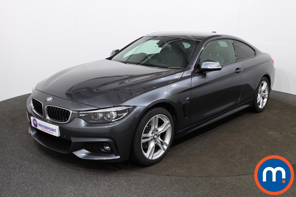 BMW 4 Series 420d [190] M Sport 2dr Auto [Professional Media] - Stock Number 1145264 Passenger side front corner