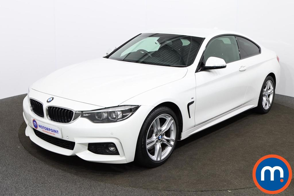 BMW 4 Series 420d [190] M Sport 2dr Auto [Professional Media] - Stock Number 1147012 Passenger side front corner