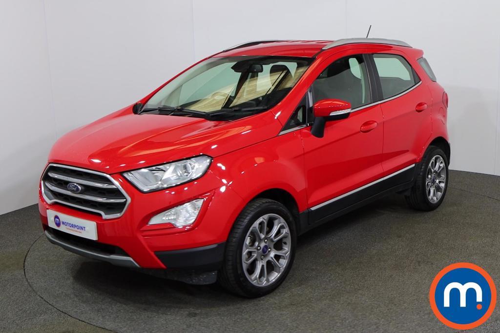Ford Ecosport Titanium - Stock Number 1147260 Passenger side front corner