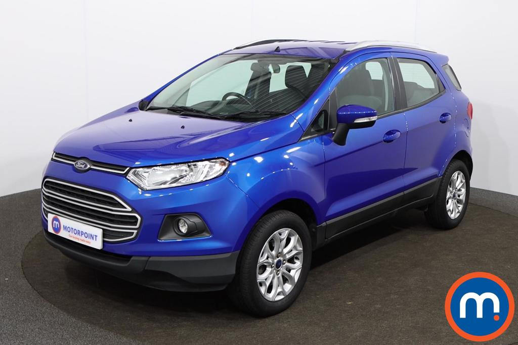 Ford Ecosport Zetec - Stock Number 1142299 Passenger side front corner