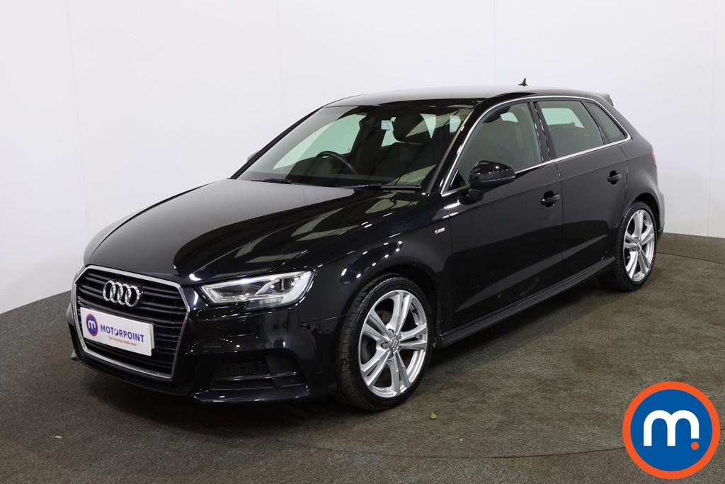 Audi A3 2.0 TDI S Line 5dr S Tronic [7 Speed] - Stock Number 1143482 Passenger side front corner