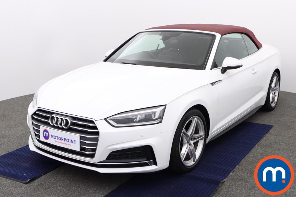 Audi A5 S Line - Stock Number 1145279 Passenger side front corner
