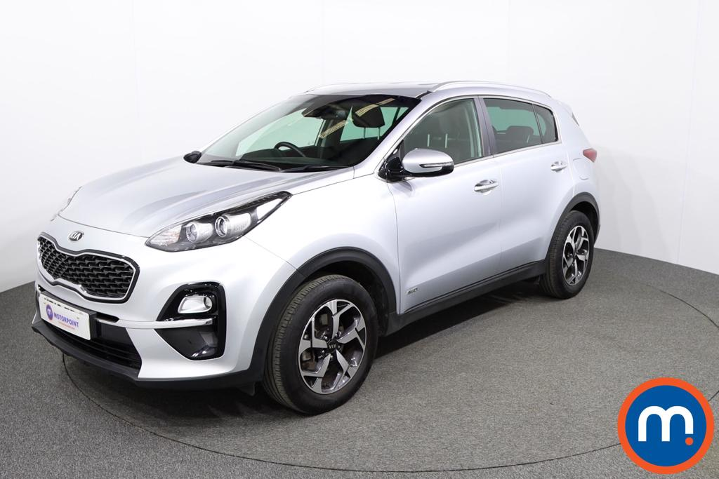 KIA Sportage 1.6T GDi ISG 2 5dr [AWD] - Stock Number 1146671 Passenger side front corner